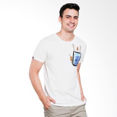 3SECOND 3501 Men Tshirt - Cream