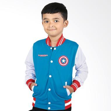 Catenzo Junior CJR CYI 162 Casual Jaket Anak Laki-laki - Biru