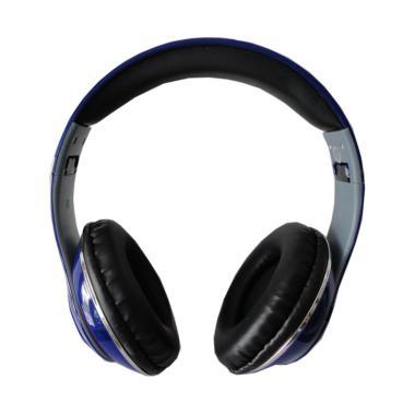 Monster TM-010 Beats by dr.dre Blue ... D Wireless Headset - Biru