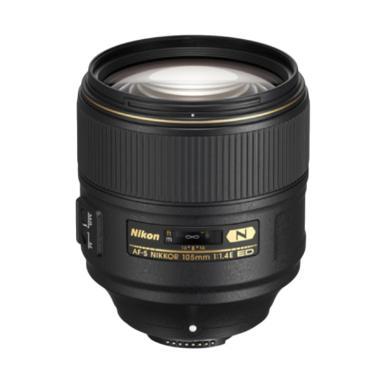 Nikon AF-S NIKKOR 105MM F/1.4E ED Lensa Kamera