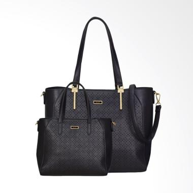 En-ji By Palomino Poppy Tote Bag - Black