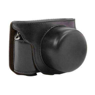 Nikon Leather Case for Kamera Mirrorless 1 J5 - Hitam