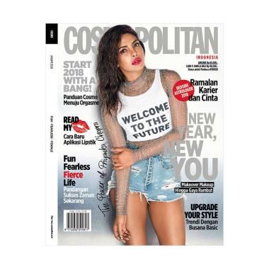 Cosmopolitan Edisi Januari 2018 Majalah Fashion & Trend