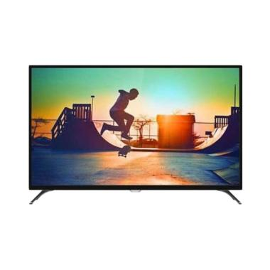 Philips 43PUT6002 4K Smart Android LED TV - Hitam [43 inch/DVB-T2]