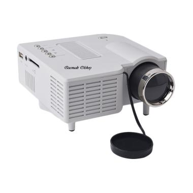 Unic UNI UC28 Mini Portable Proyektor - White [Home Theater]