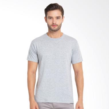 Kingsman Clothing Premium Polos Plain Distro T-Shirt Pria - Misty