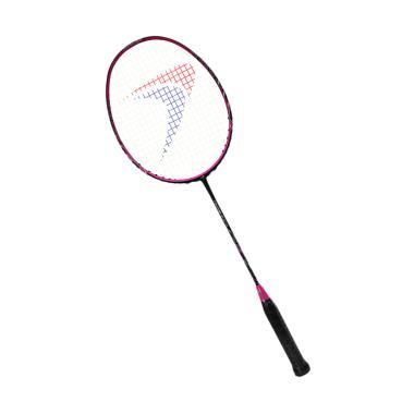 Flypower Thunderstorm Raket Badminton - Black Pink + Free Tas & Kaos
