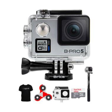Brica B-PRO 5 Alpha Plus 2 AP2 Comb ... do Action Camera - Silver