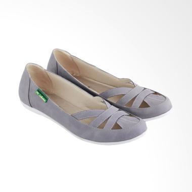 JK Collection JKC-JEG 1313 Sepatu Ballerina Wanita - Abu