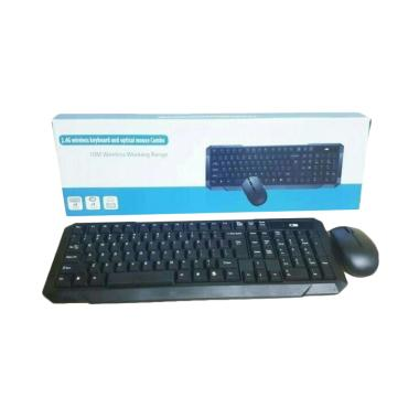 Combo Wireless Keyboard and Optical Mouse [2.4 Ghz]