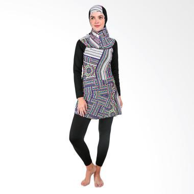 Laiz Collection Baju Renang Muslimah - Hitam