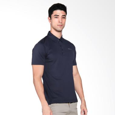 Svingolf Basic Fit Polo Golf Pria - Navy Blue