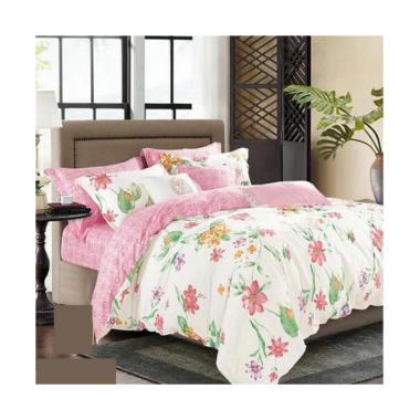 Melia Bedsheet J-3799 Katun Jepang Set Sprei - Floral Print
