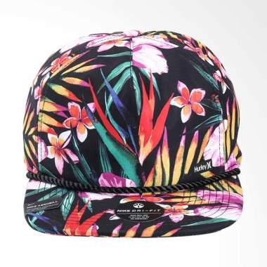 Hurley Dri Fit Garden Hat Topi Pria - Black [892026 010]