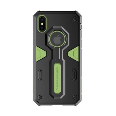 Nillkin Defender Hardcase Casing fo ... r Apple iPhone 10 - Green
