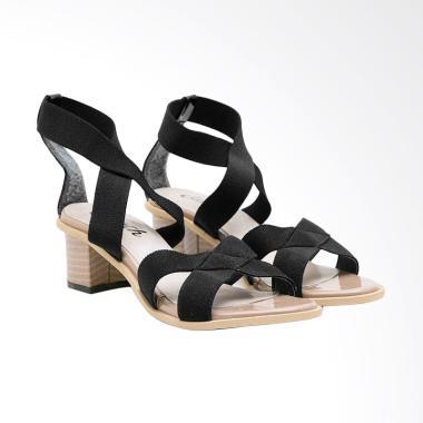 Edberth Violeta Sepatu Heels Wanita - Black