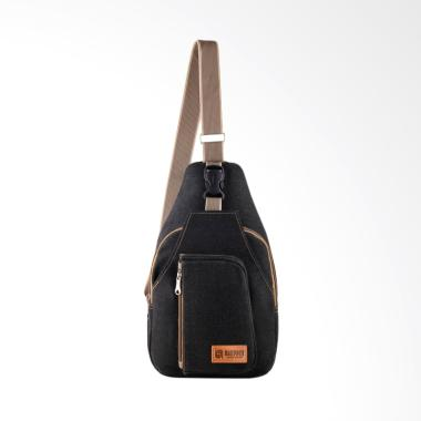 Baepack Casual Sports Canvas Sling Bag - Dark Grey