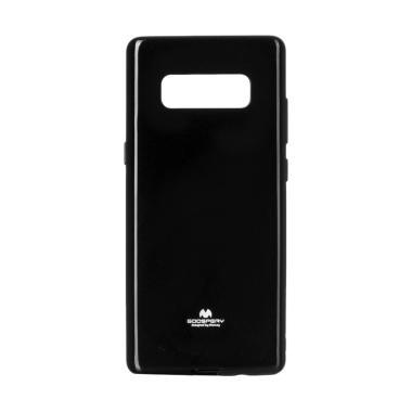 Mercury Pearl Jelly Casing for Samsung Galaxy Note 8 N950 - Hitam