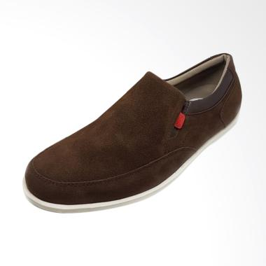 Sepatu Kasual Pria Grocks Tonga Sli ... s Kickers Hummer - Coklat