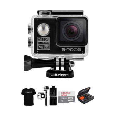 BRICA B-PRO 5 Alpha Edition 1 4K (A ... wesome Action Cam - Hitam