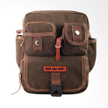 Gear Bag Coast Guard Army Tas Selempang Pria - Khaki
