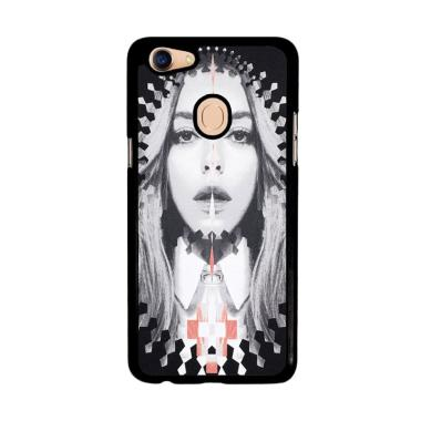 Flazzstore Marcelo Burlon Lea Ladies J0161 Custom Casing for Oppo F5