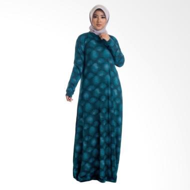 MIMUMOO Payung Gamis Abaya Dress Muslimah Syar'i Hamil - Tosca