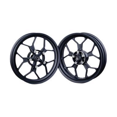 harga Velg Rossi Sprint Rattle Velg Motor for Yamaha R15 - Black [17x3.00/ 17x4.50] Blibli.com