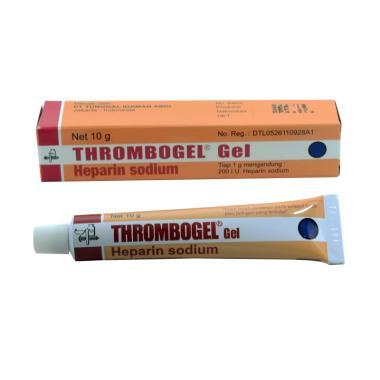 jual farmasi suplemen kesehatan thrombogel harga kualitas