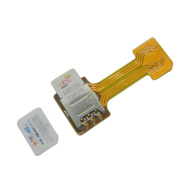 Berkah Jaya Hybrid Dual SIM Extensi ... ard + Micro SD Converter]