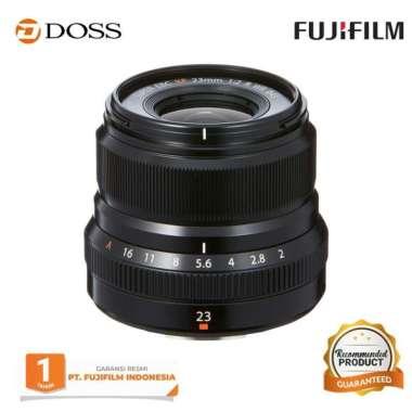 DOSS Fujinon XF 23mm f/2.0 R WR / Lensa Fujifilm XF 23mm BLACK