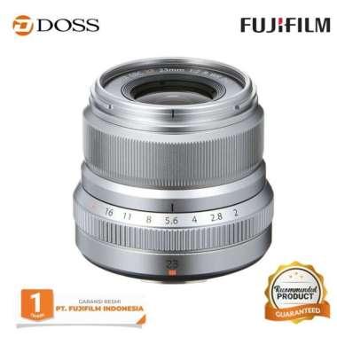 DOSS Fujinon XF 23mm f/2.0 R WR / Lensa Fujifilm XF 23mm SILVER