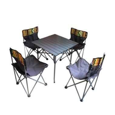Dhaulagiri Folding Table and Chair Set for Outdoor Camping