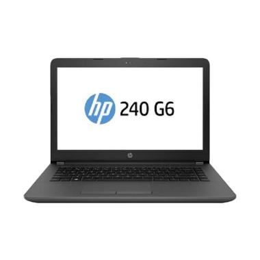 HP 240 G6 Notebook - Grey [i5-7200U/ 4GB/ 1TB/14 Inch/ Win 10]