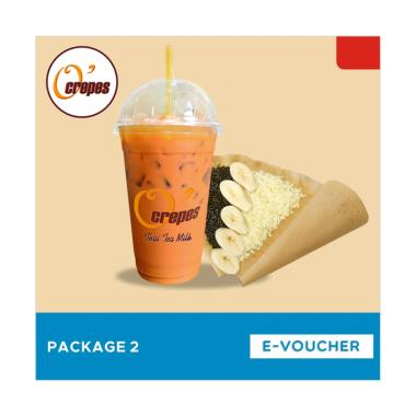 O'Crepes Package 2 E-Voucher