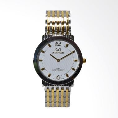 Mirage Jam Tangan Pria - Silver [7392-A]