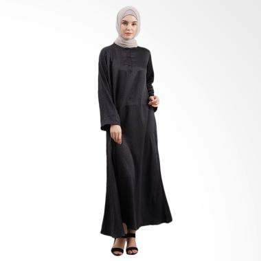 LAMAK Kawung Dress Muslim - Hitam