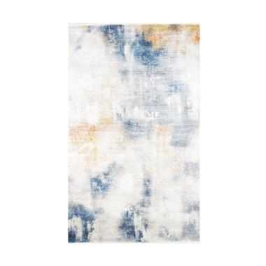 Olafur Frances Rug Karpet - Washed Blue [120x185 cm]