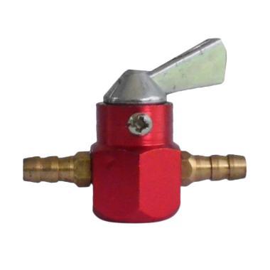 Raja Motor CNC Keran Bensin - Merah [KNB8002-Merah]