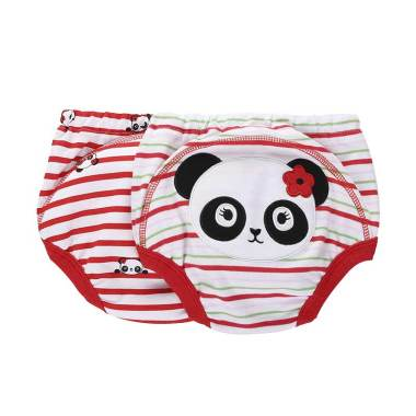 Mom N Bab 2 in1 Pretty Panda Training Pants