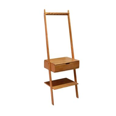 Livien Furniture Alice Hanger Maple Story Rak Dinding Gantung - Coklat Muda