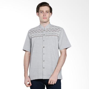 intresse_intresse-sparkle-baju-koko-pria---grey_full02 10 Harga Baju Koko Untuk Remaja Cowok Terlaris 2018