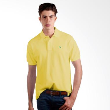 POLO RALPH LAUREN Classic Fit S/S M ...  - Yellow - X02A02E02WH -