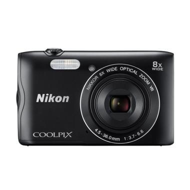 Nikon Coolpix A300 Kamera Pocket - Black jpckemang