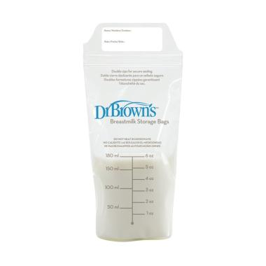 Dr.Brown's Breastmilk Storage Bag [180 mL/25 Pack]