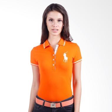 POLO RALPH LAUREN Slim Fit S-S Ladi ... gnal Orange - Y8486UEM9WL