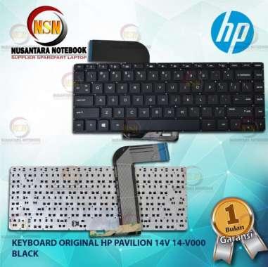 harga Keyboard Original HP Pavillion 14v 14-V000 14-v100 Series Black Blibli.com