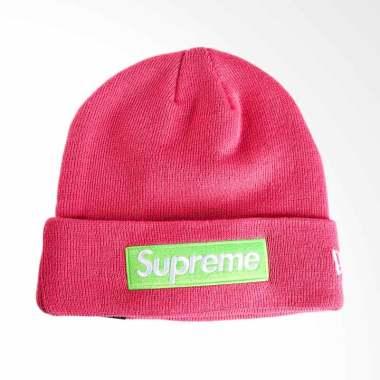 1013fde9ca000 Supreme New York New Era Bogo Beanie Head - Pink