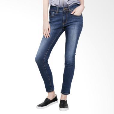 Lois Girl FSW 204 D High Rise Skinny Stretch Pants Denim - Blue