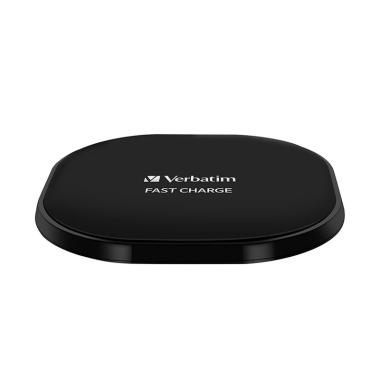 Verbatim 10W Wireless Charger - Black [Fast Charging]